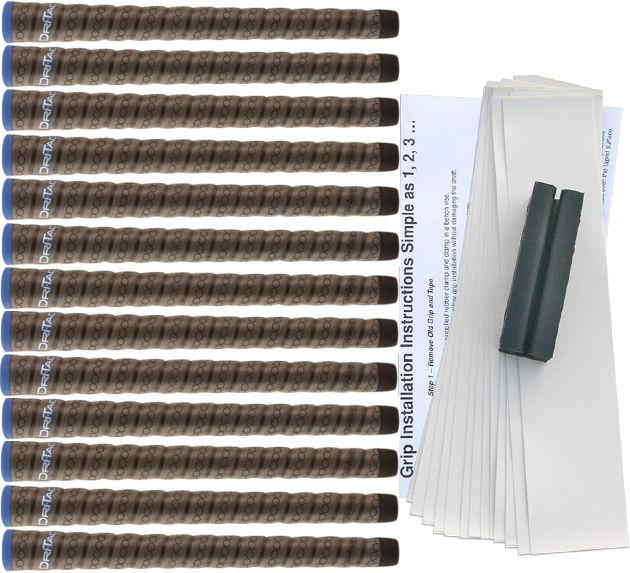 Winn DriTac Wrap Midsize - 13 pc Grip Kit