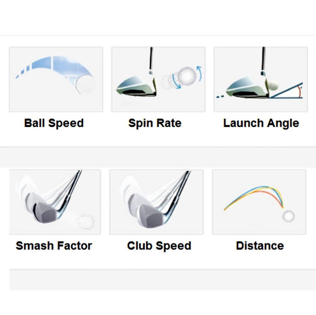 Ernest Sports ES14 Golf Launch Monitor - Black