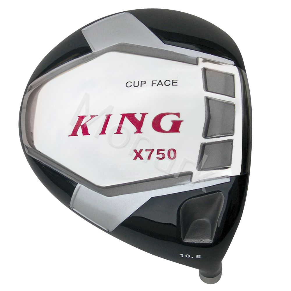 Custom-Built King X750 Cup Face Titanium Driver