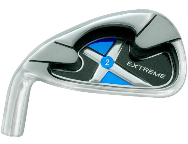 Extreme X2 Blue Iron Head Left Hand