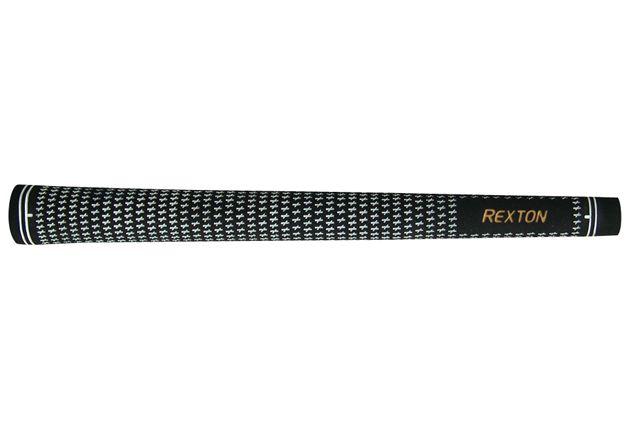 """Rexton Velvet Black/White Oversize (+1/16"""") Grips"""