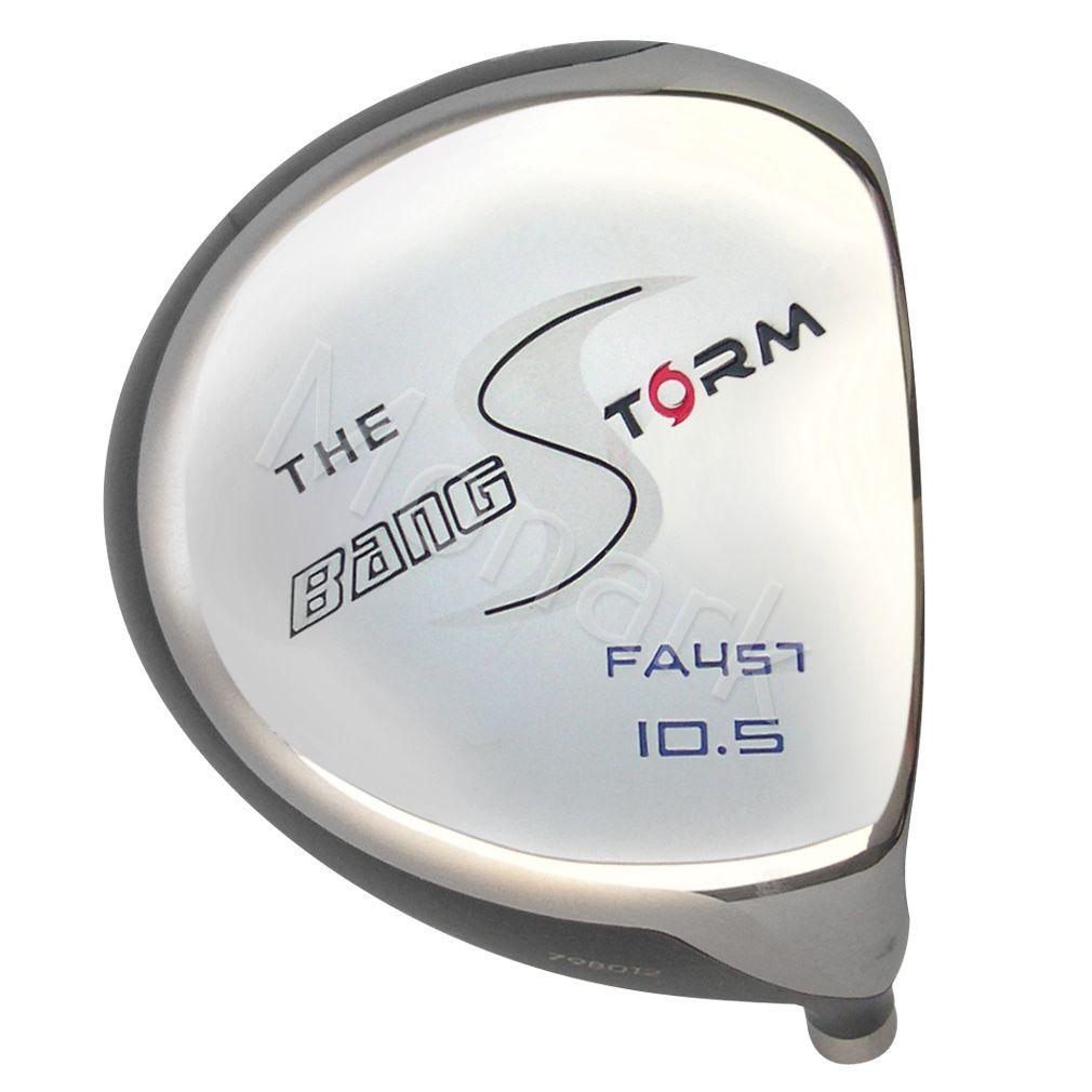 Custom-Built Bang Golf Storm Offset Beta Titanium Driver