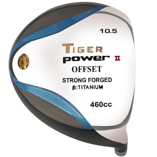 Tiger Power II Offset Titanium Driver Head RH