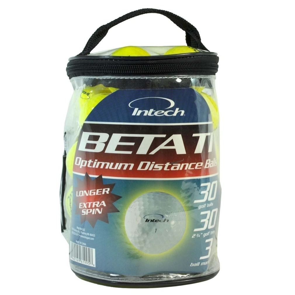 Intech Beta Ti Golf Balls (30 Bonus Pack)