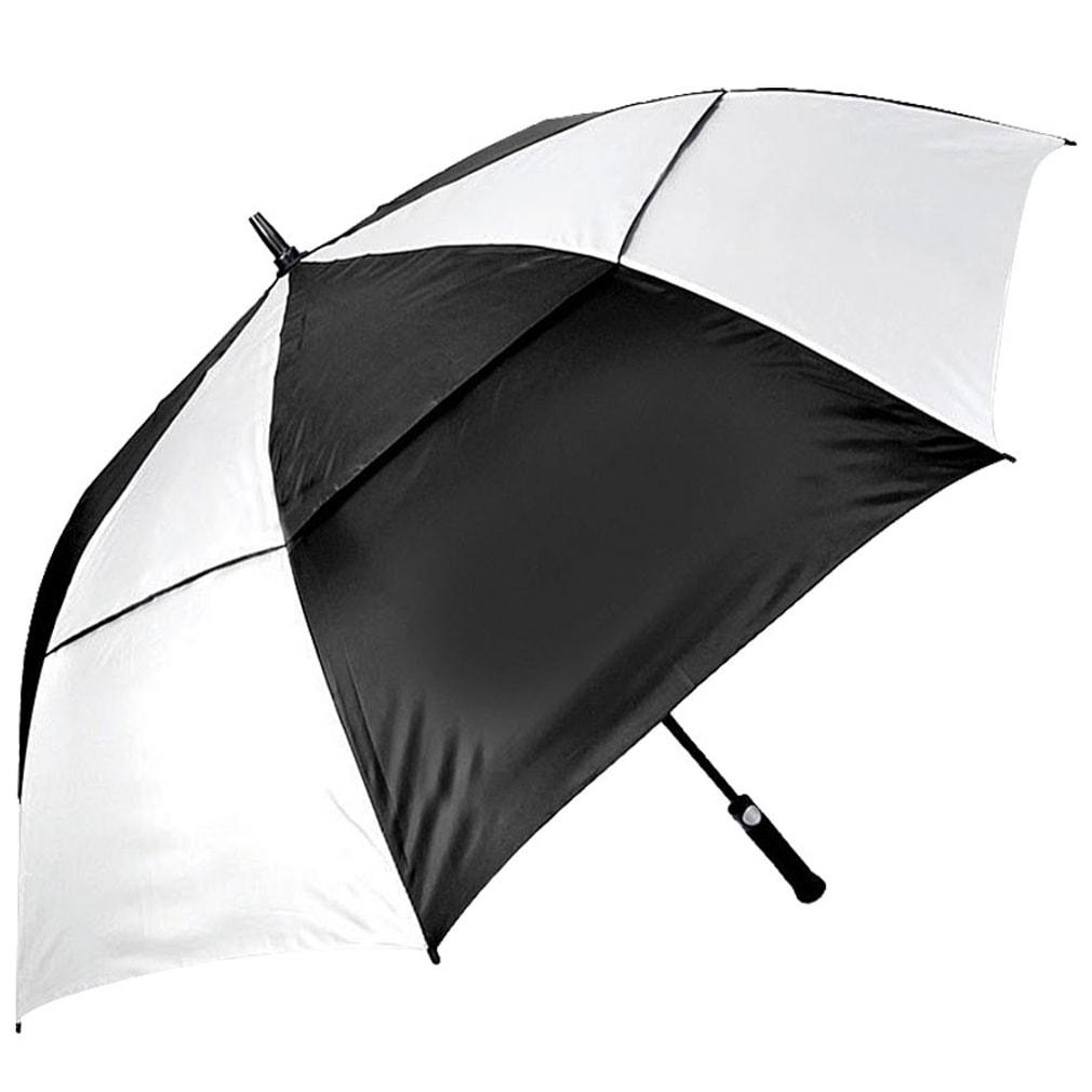 Orlimar Cyclone Auto Opening Umbrella - Black/White