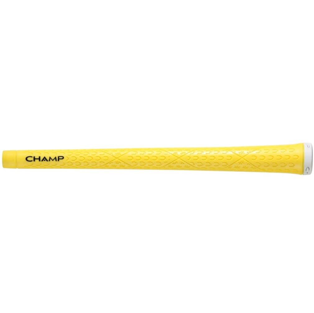 "Champ C8 Golf Grip - Standard Neon Yellow 0.600"" Round"