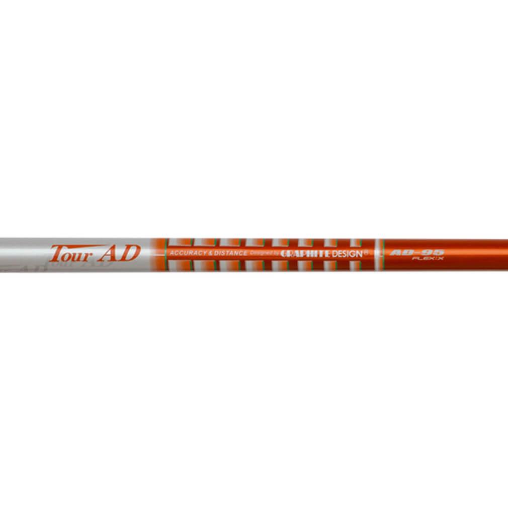 Graphite Design Tour AD Utility/Driving Iron Golf Shafts - Orange/White