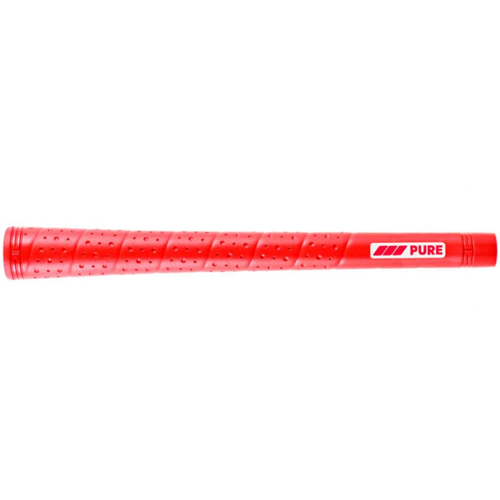 Pure Grips P2 Wrap Standard Red Golf Grips
