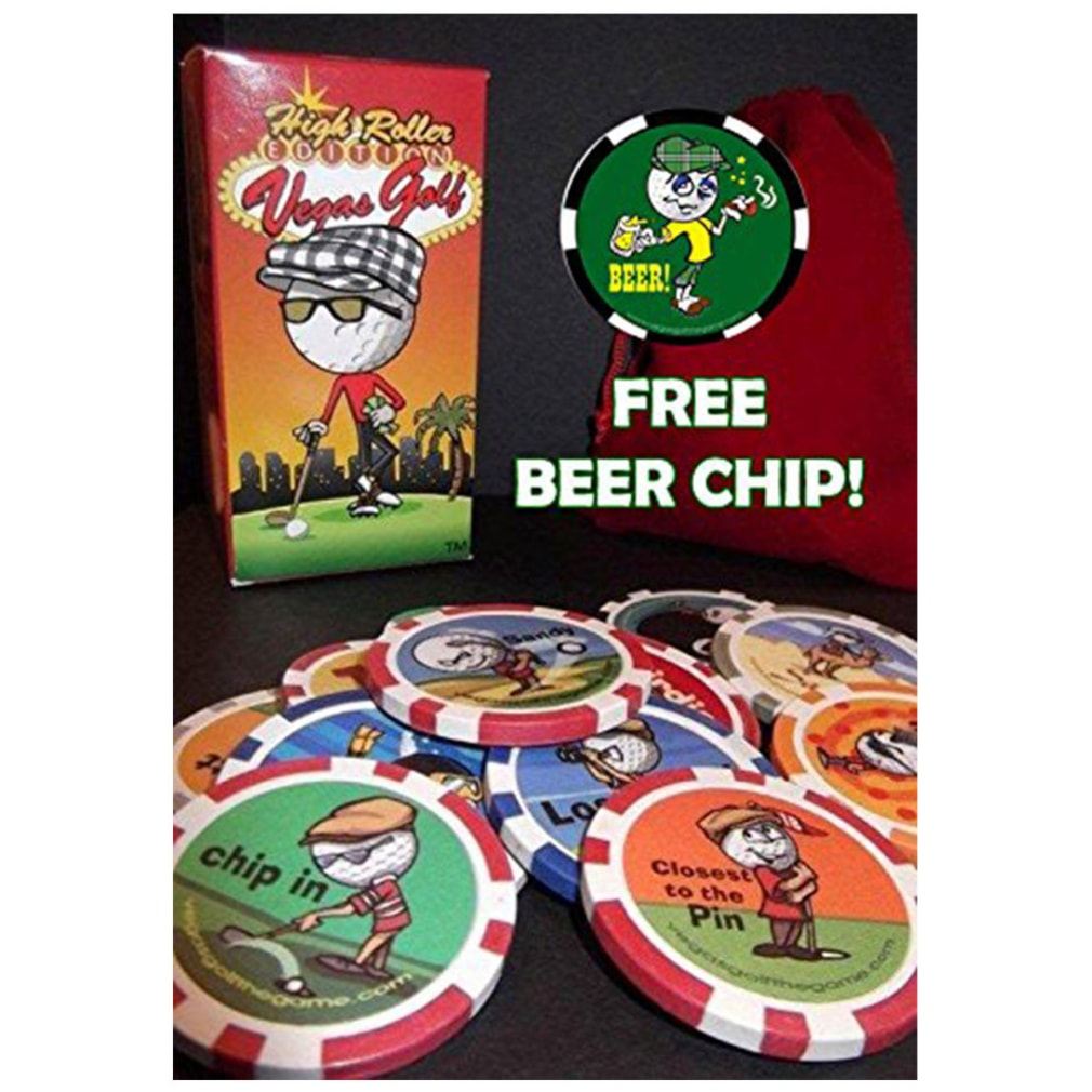 Vegas Golf High Roller Edition with 15-chips! - With Free Beer Chip
