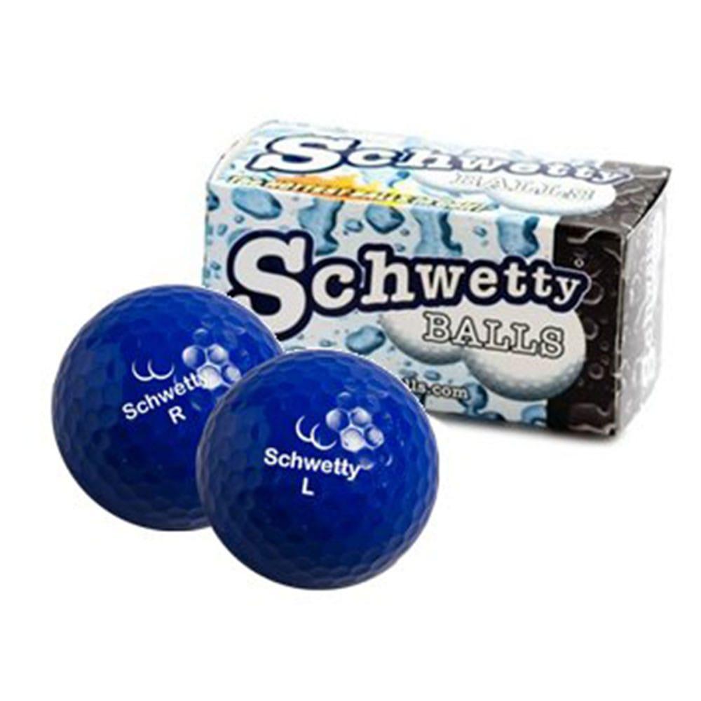 Schwetty Balls - Blue Pair Novelty Golf Balls