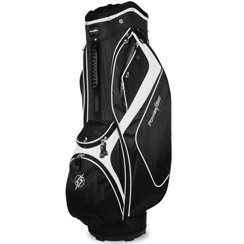 Powerbilt Air Attack Black/Black Cart Bag
