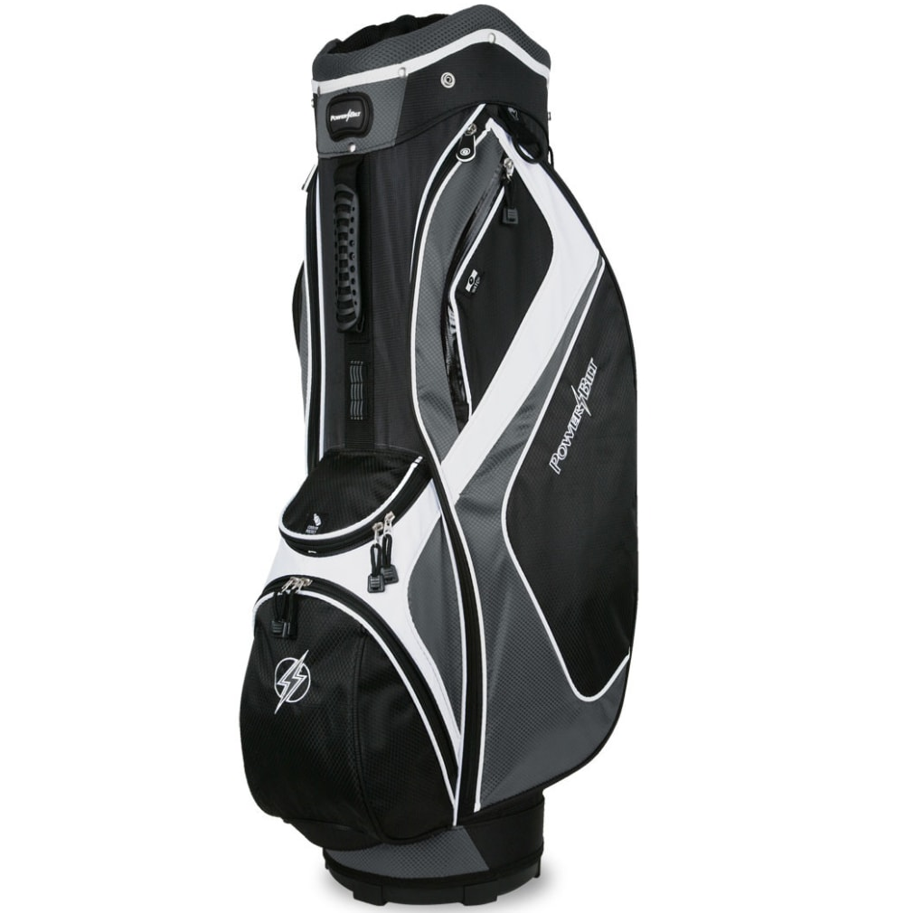 Powerbilt Air Attack Black/Charcoal Cart Bag