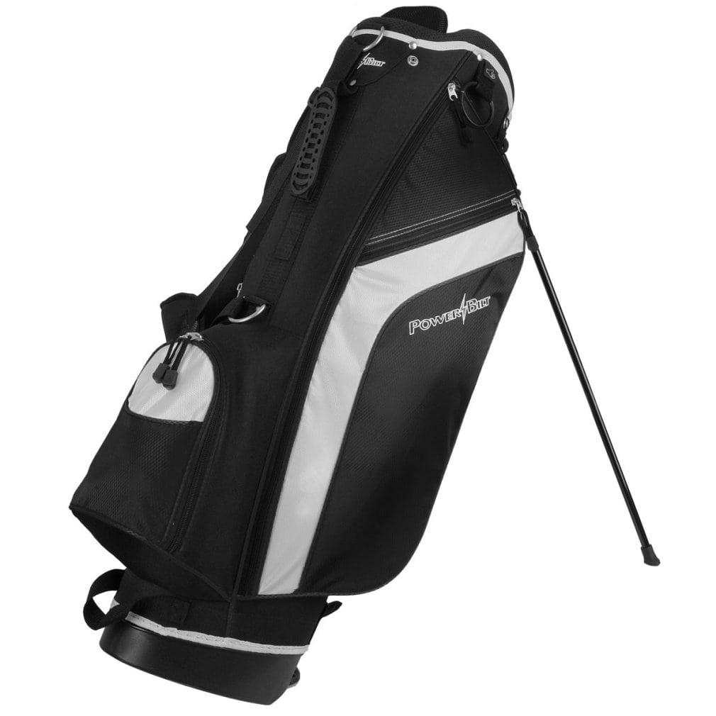 PowerBilt Santa Rosa Stand Bag, Black/Black