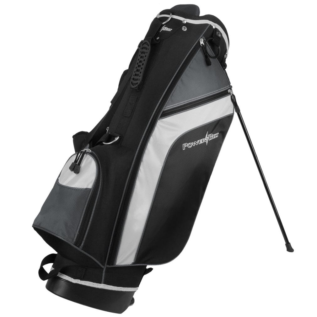 Powerbilt Santa Rosa Black/Blue Stand Golf Bag