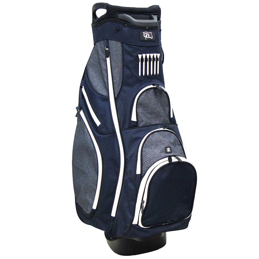 RJ Sports OX-820 Cart Bag - Navy/Grey