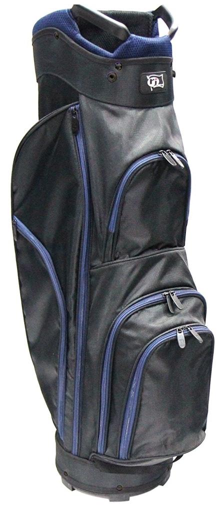 RJ Sports CC-490 Cart Bag - Black/Navy