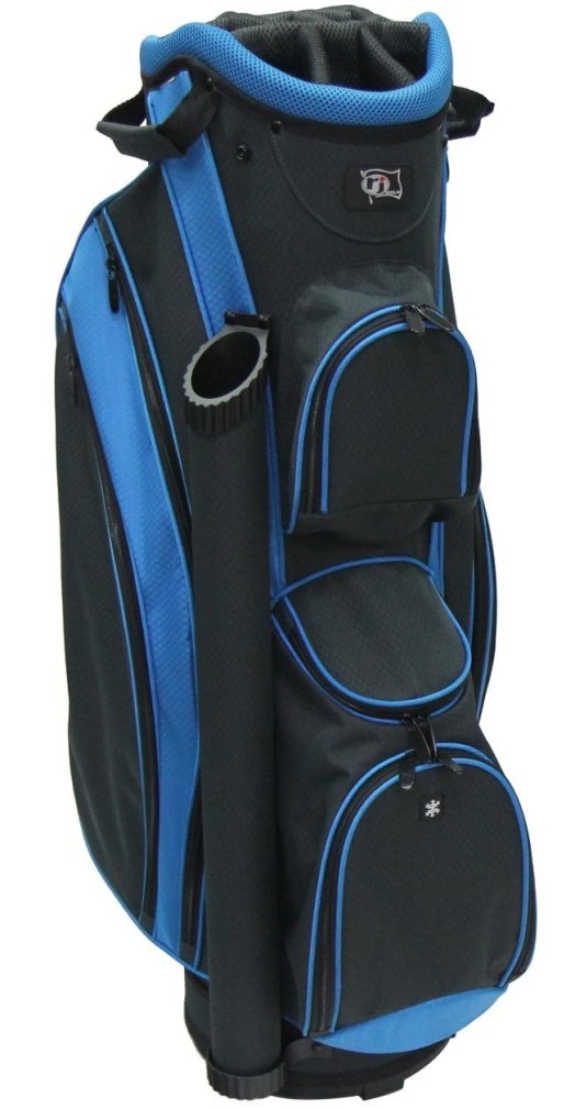 RJ Sports DS-590 Cart Bag - Black/Blue