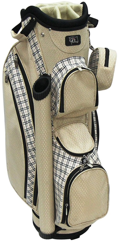Rj Sports LB-960 Ladies Cart Bag - Sand Plain
