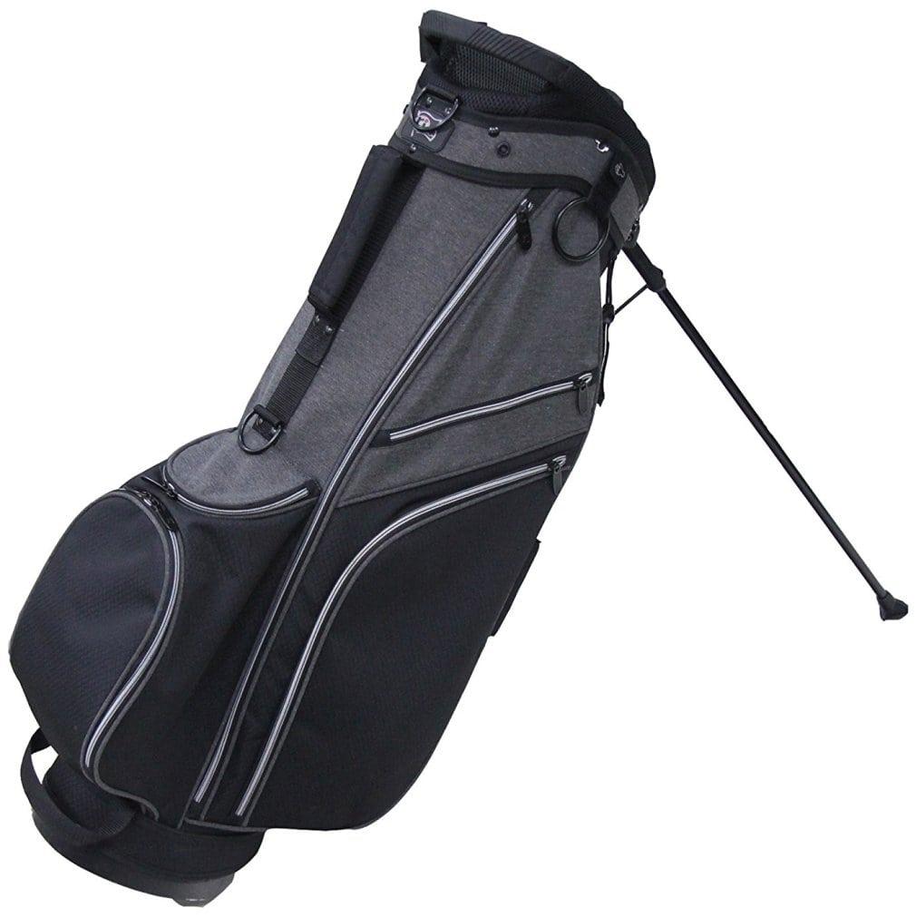 RJ Sports SB-595 Stand Bag - Black/Black