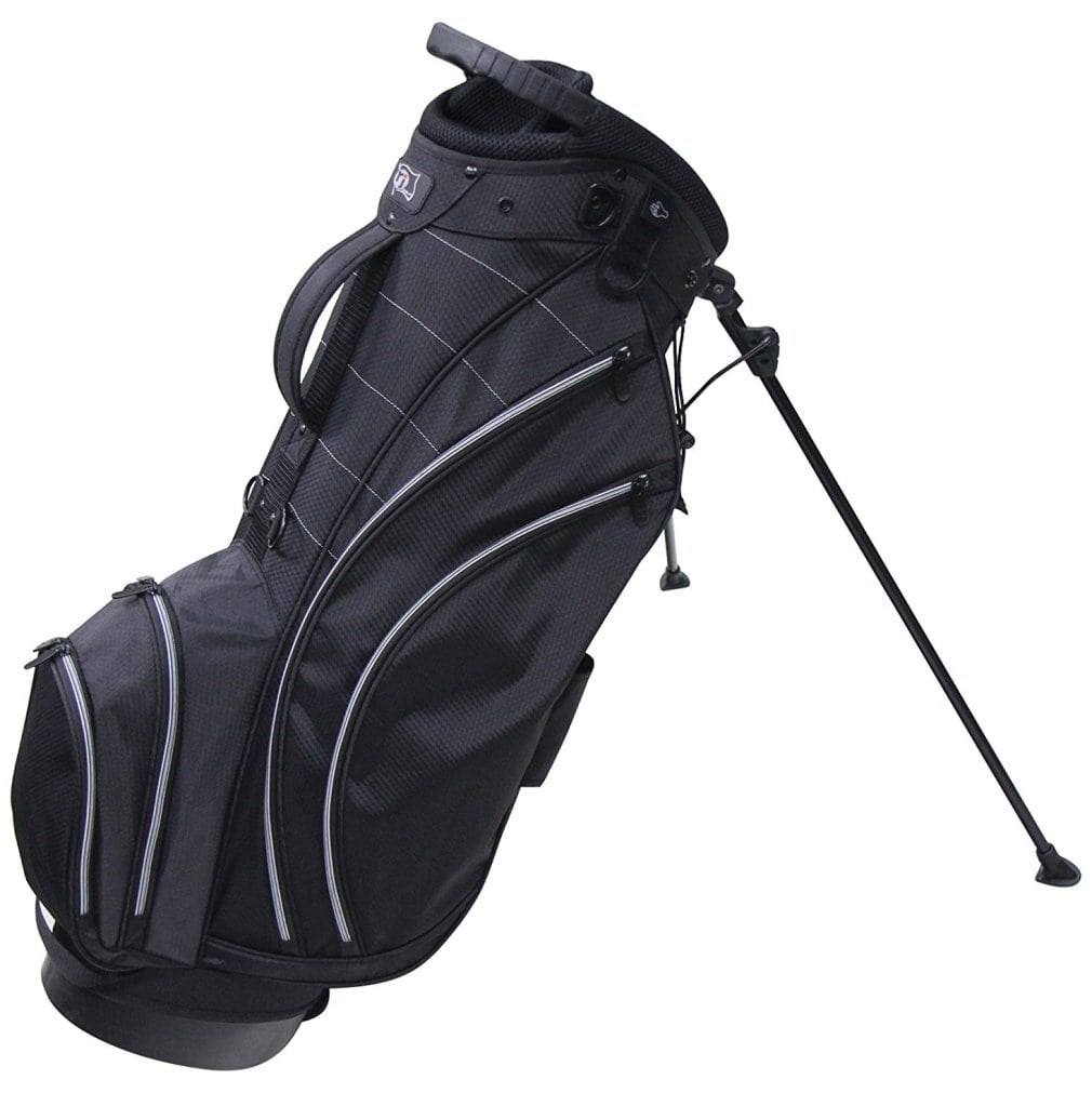 RJ Sports SB-495 Stand Bag - Black/Black