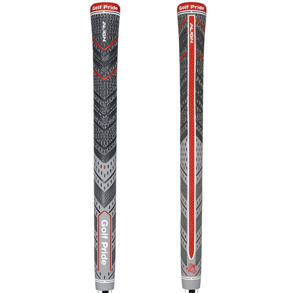Golf Pride MCC PLUS4 ALIGN Midsize Grey Golf Grip