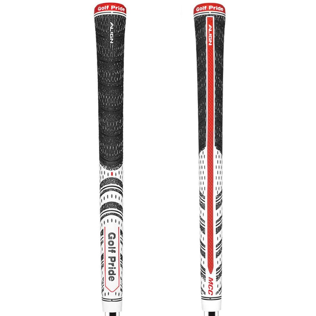 Golf Pride MCC Classic ALIGN Midsize White Golf Grip