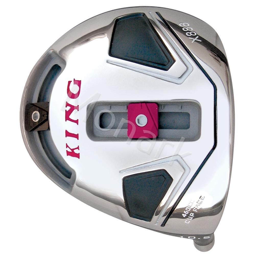 Custom-Built King X-888 Cup Face Titanium Golf Driver