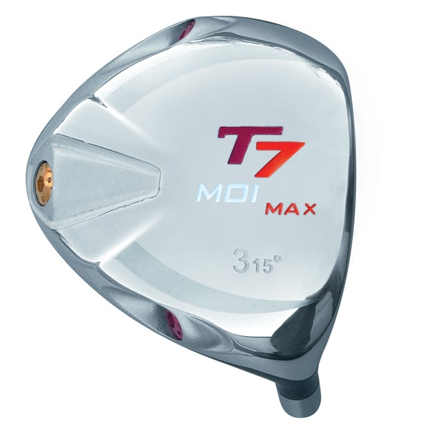 T7 Max MOI Triangular Red Fairway Wood Head