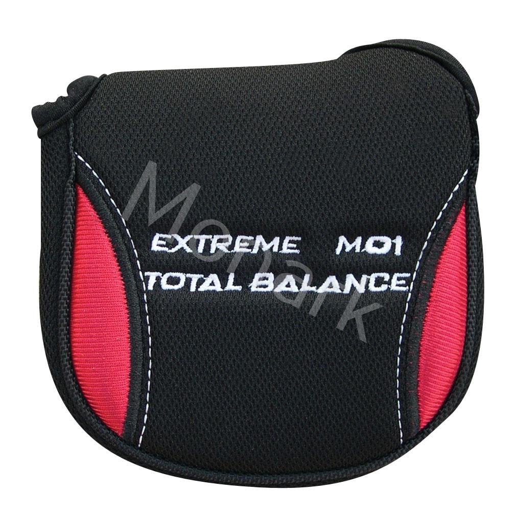 Mallet Putter Headcover Red/Black Oversize - Left Hand