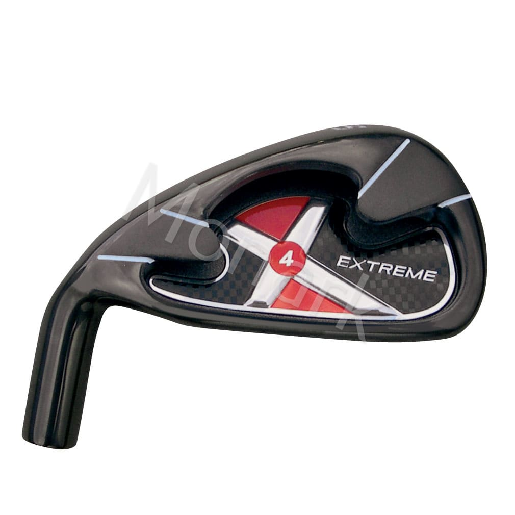 Custom-Built Extreme-X4 Black Plated Iron Set Left Hand