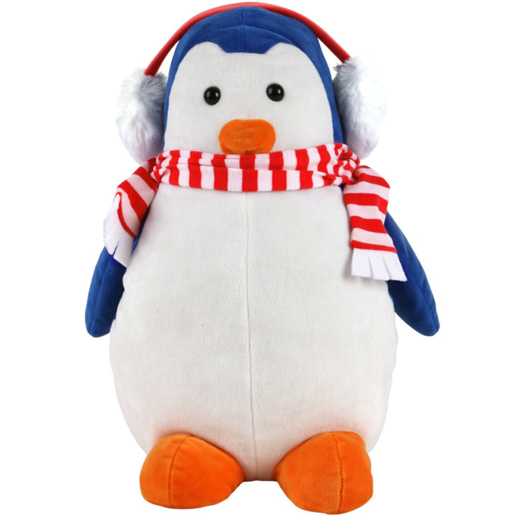 Blue Winter Penguin Driver Headcover