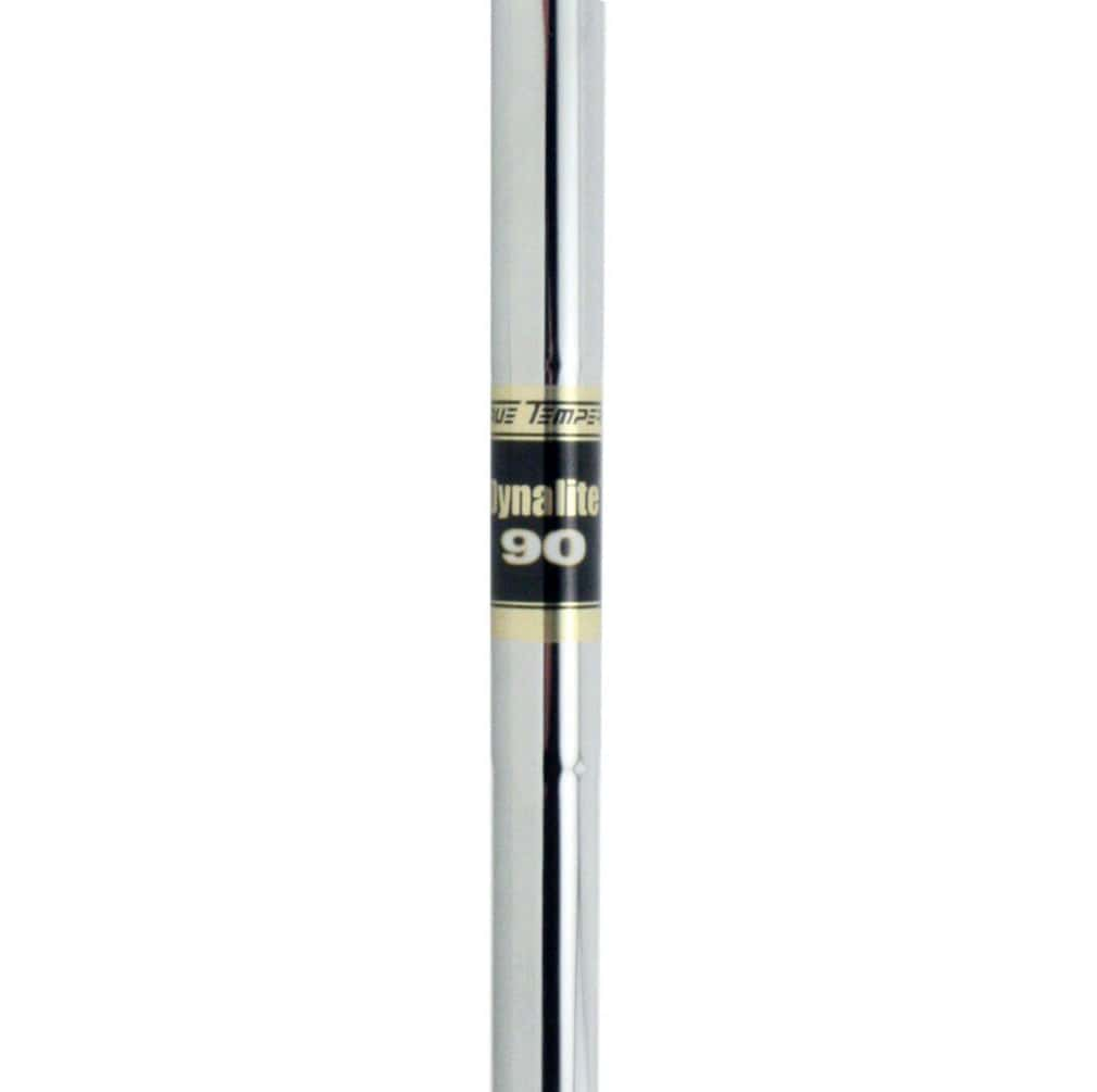 "True Temper Dynalite 90 0.370"" Parallel Tip Steel Iron Shaft"