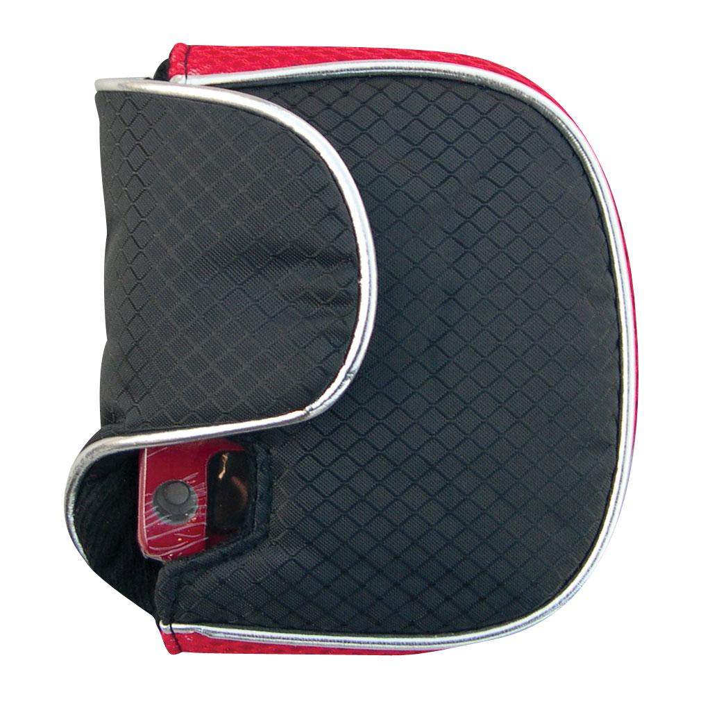 Oversize Mallet Putter Head Cover Red/Black - Left Hand