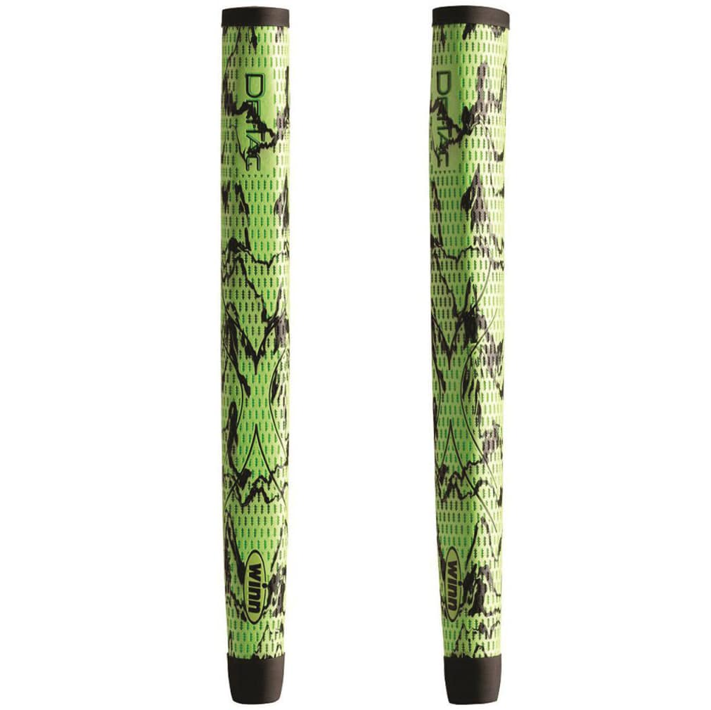 Winn DriTac X Midsize Pistol Putter Grip - Green/Black