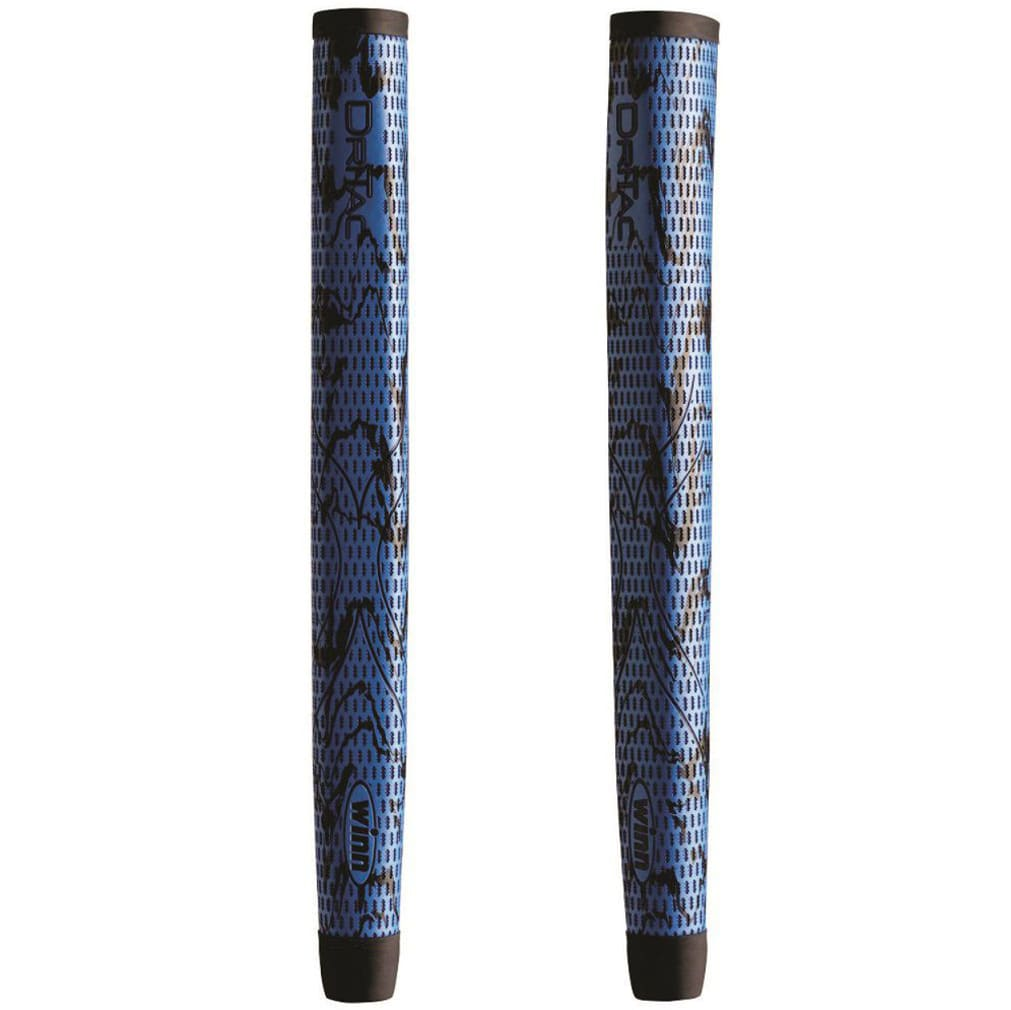 Winn DriTac X Midsize Pistol Putter Grip - Blue/Black