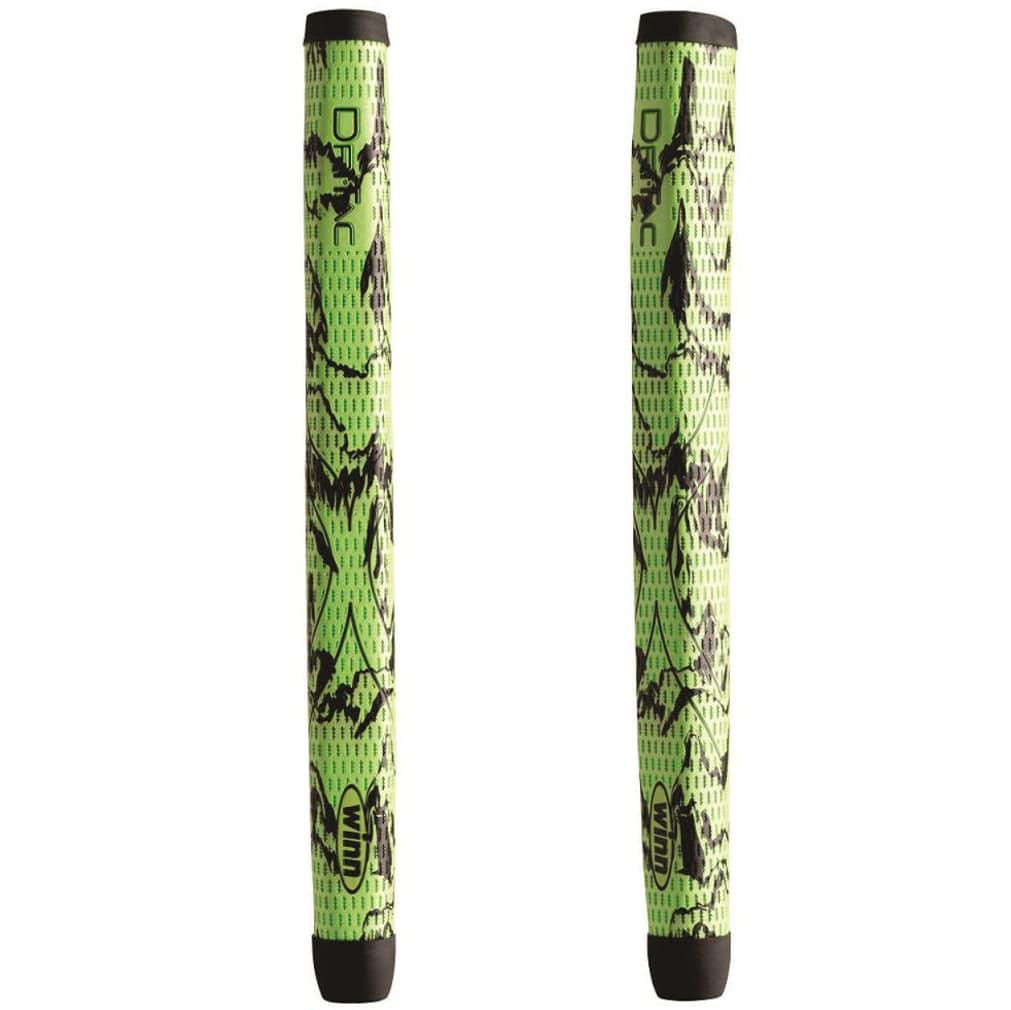 Winn DriTac X Medallist Pistol Putter Grip - Green/Black