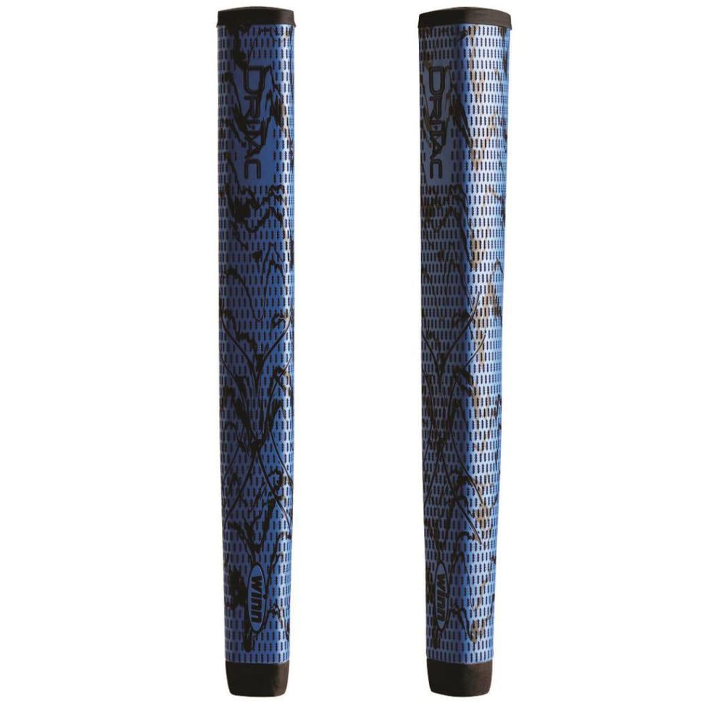 Winn DriTac X Lite Jumbo Pistol Putter Grip - Blue/Black