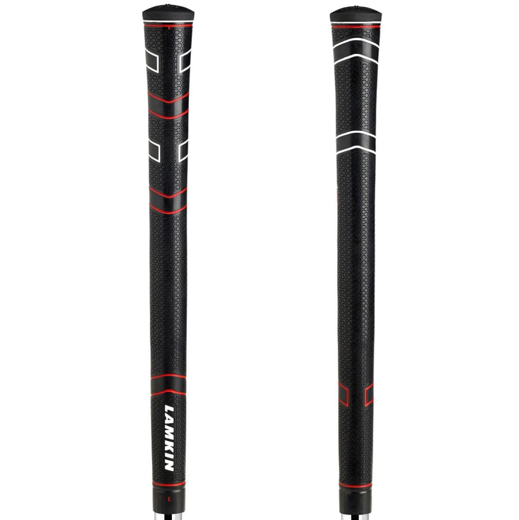 Lamkin Comfort Plus Midsize Black/Red Golf Grips