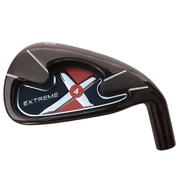 Custom-Built Extreme X4 Black Plated Iron Set