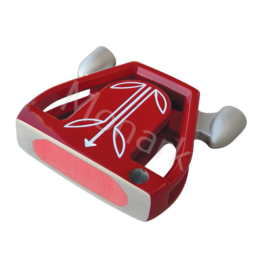 T-7 Twin Engine Red Mallet Putter Head - Left Hand