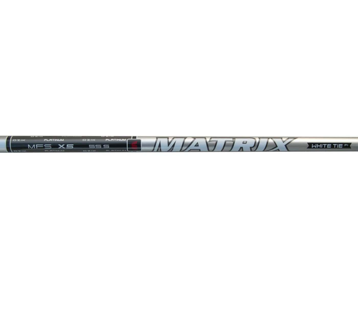 Matrix Ozik MFS X5 55 White Tie Graphite Wood Shafts