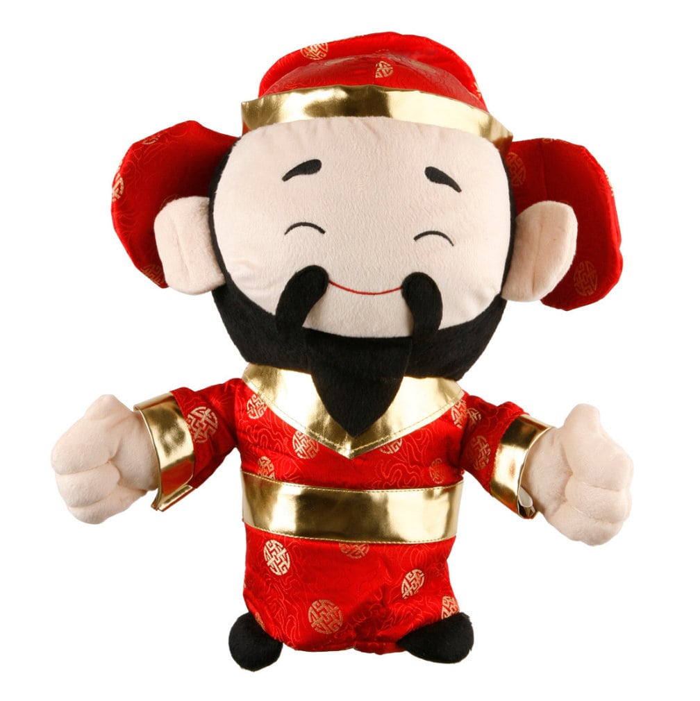 Chinese God of Wealth Driver Headcover