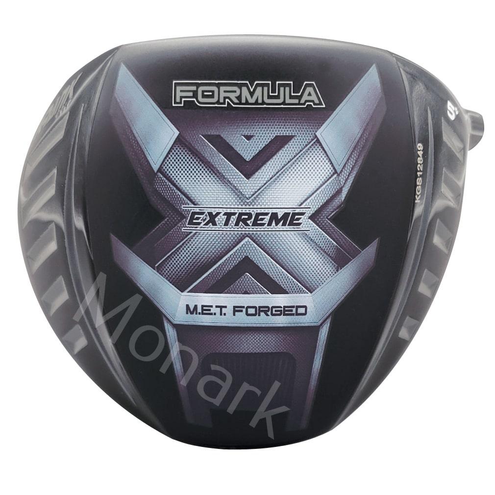 Krank Golf Formula X Extreme Long Drive Driver Head - Glue-In/USGA Conforming