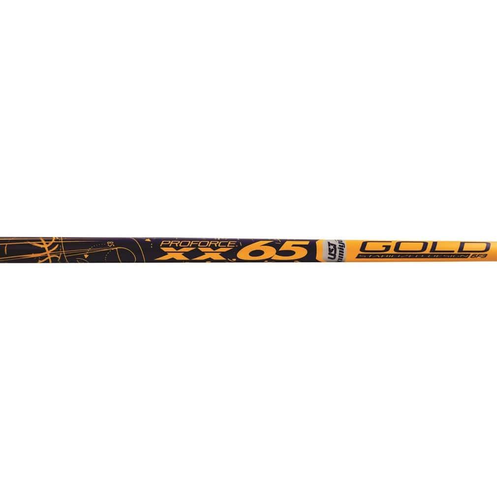 UST-Mamiya ProForce Gold XXV 65 Graphite Wood Shafts