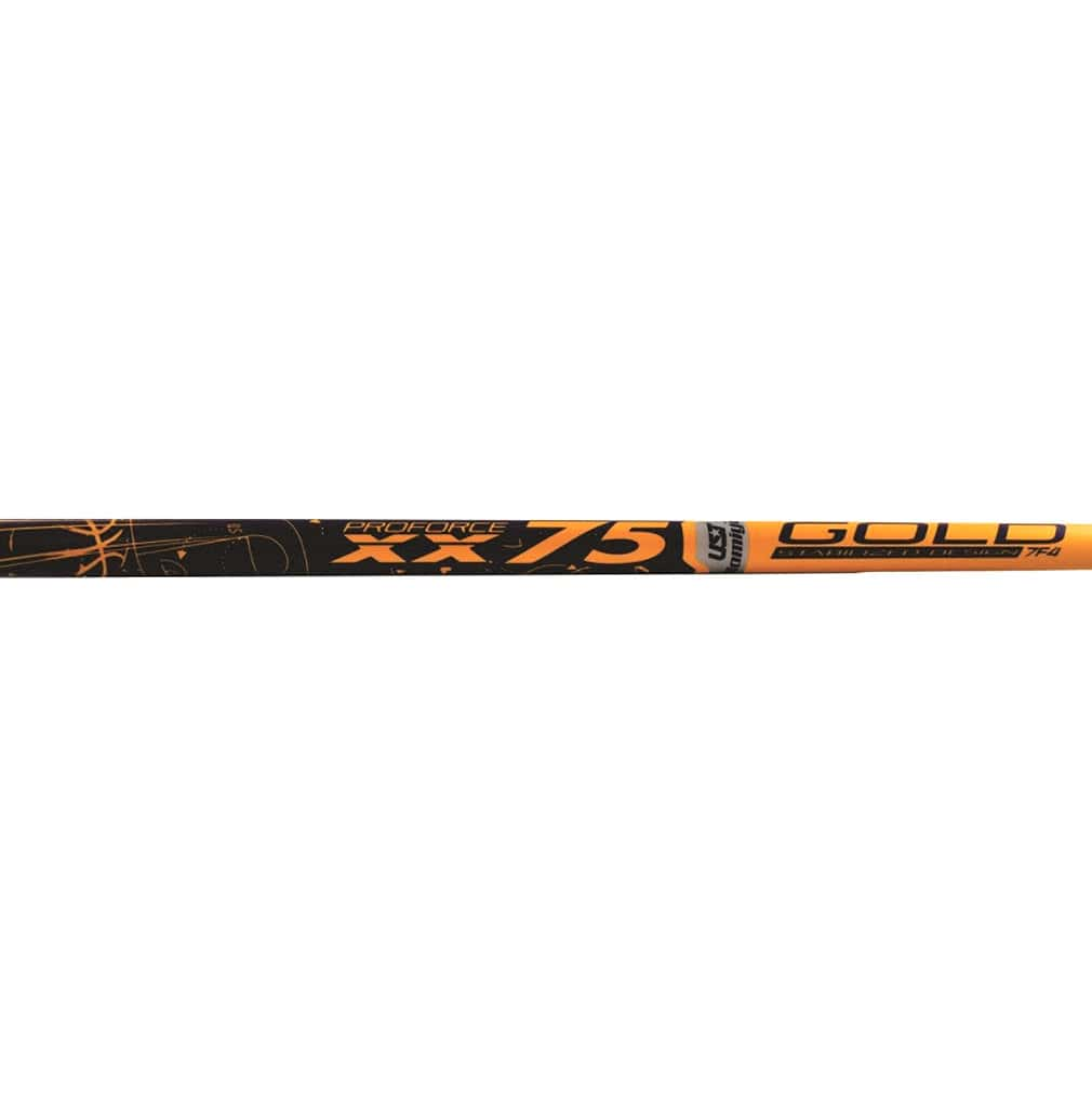 UST-Mamiya ProForce Gold XXV 75 Graphite Wood Shafts