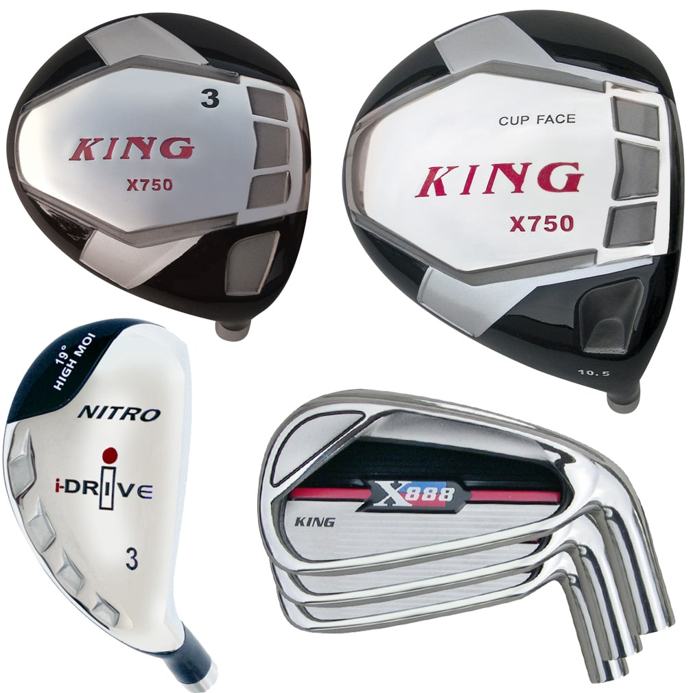 Built King X-750 Titanium Driver 9-Club Set RH