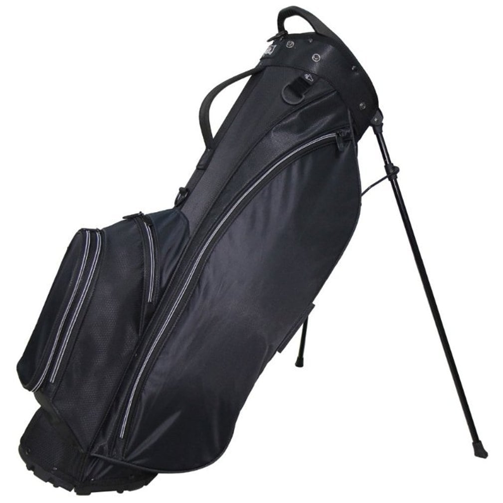 "RJ Sports Playoff 9.5"" Deluxe Stand Bag Black/Black"