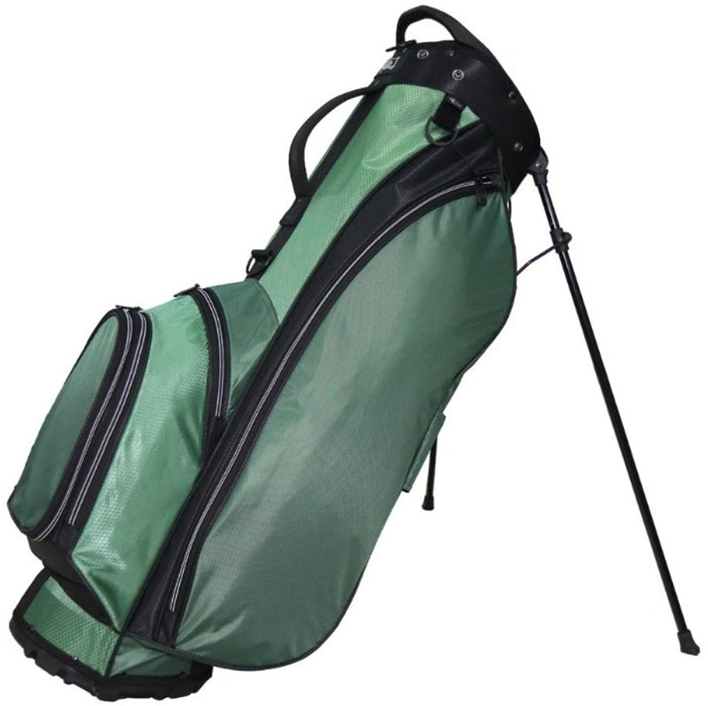 """RJ Sports Playoff 9.5"""" Deluxe Stand Bag Hunter/Black"""