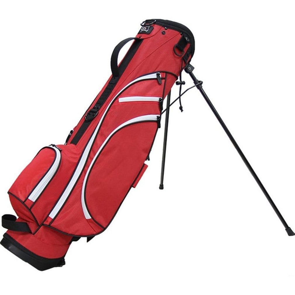 "RJ Sports Typhoon-II 6"" Stand Bag - Red/White"