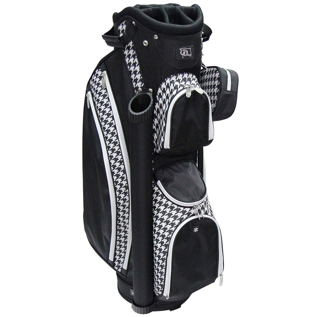 RJ Sports Paradise Deluxe Ladies Cart Bag - Houndstooth
